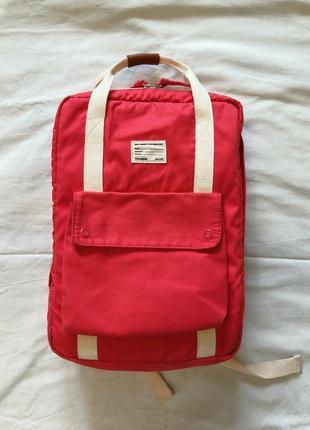Кораловий рюкзак pull&bear