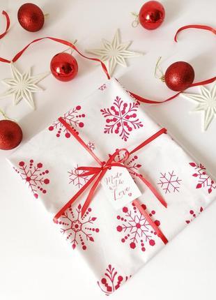 Новогодняя дорожка на стол, святкова, новорічна доріжка