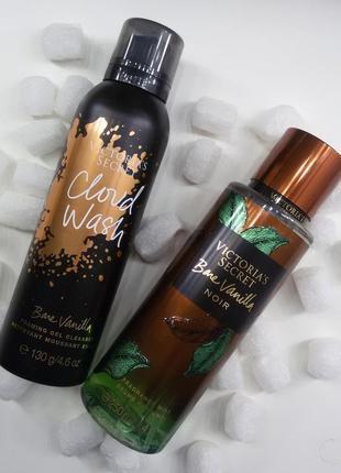 Набор ваниль victoria's secret bare vanilla гель и мист для тела