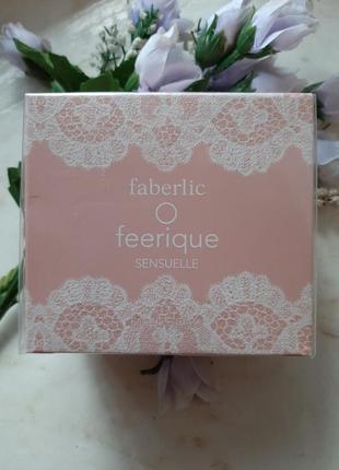 Парфюмерная вода faberlic o feerigue sensuelle.