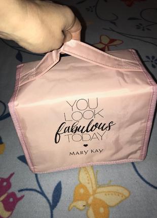 Косметичка - органайзер розовая mary kay мэри кэй