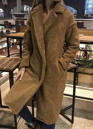 Пальто в стиле teddy bear