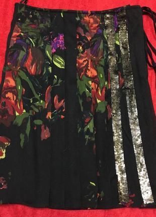 Шикарная юбка из натуральной шерсти max mara