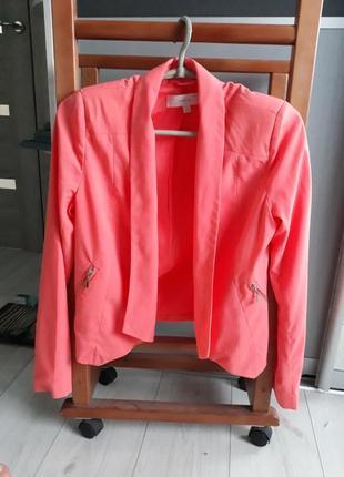 Пиджак джемпер кардиган  кофта косуха теплая с рукавами розовый