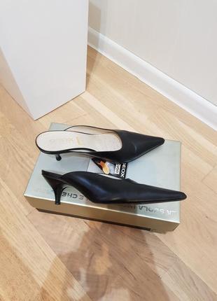 Мюли geox туфли босоножки