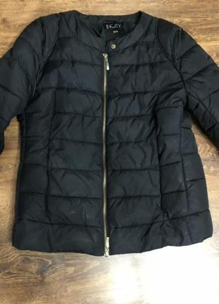 Куртка парка пуховик дутая кожанка пальто