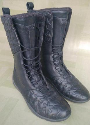 Сапоги ботинки на высокой шнуровке helly hansen