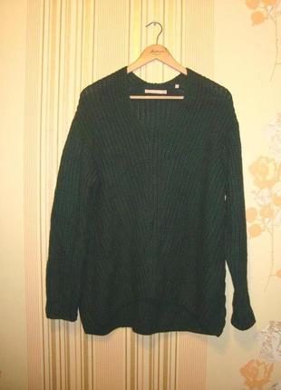 Стильный свитер крупной вязки marc o polo