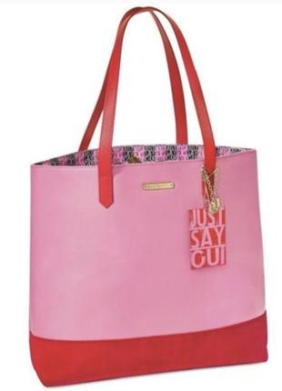 Розовая сумка juicy couture