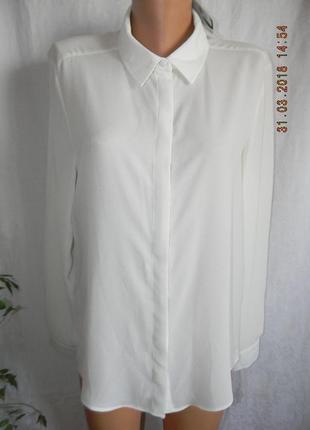 Новая белая блуза-рубашка atmosphere