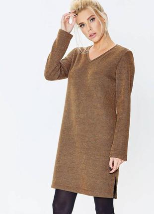 Теплое женское платье-туника nenka
