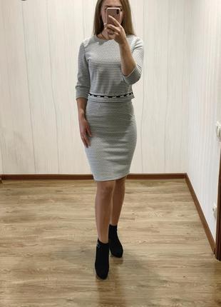 Стильный женский трикотажный костюм. размеры 44-52