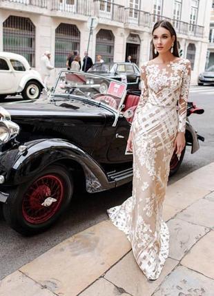 Шикарное свадебное платье от oksana mukha