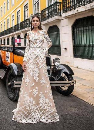 Шикарное свадебное платье от oksana mukha2 фото