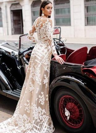 Шикарное свадебное платье от oksana mukha3 фото