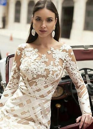 Шикарное свадебное платье от oksana mukha4 фото