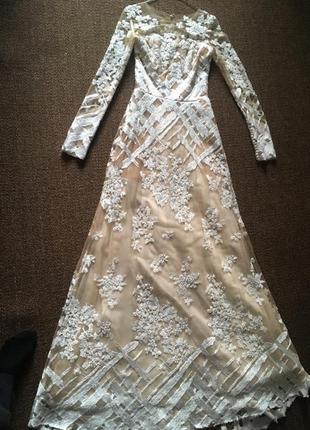 Шикарное свадебное платье от oksana mukha6 фото