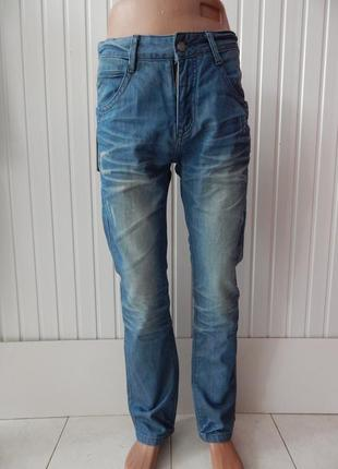 Мужские зауженные качественные джинсы armani р.30
