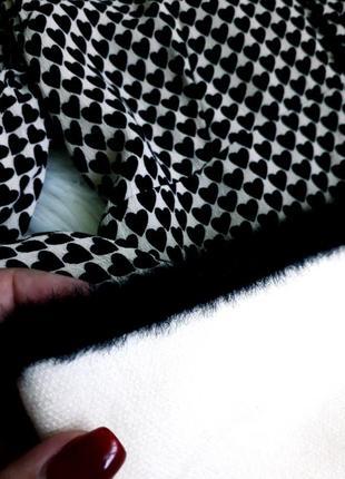 Кремовая юбочка тонкой вязки от zara3 фото