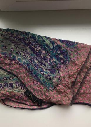 Шелковый платок шарф etro