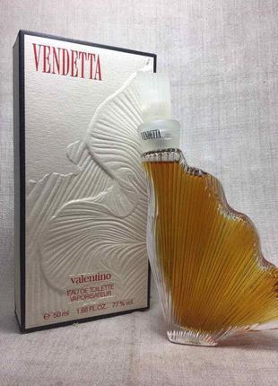 Туалетная вода vendetta donna valentino