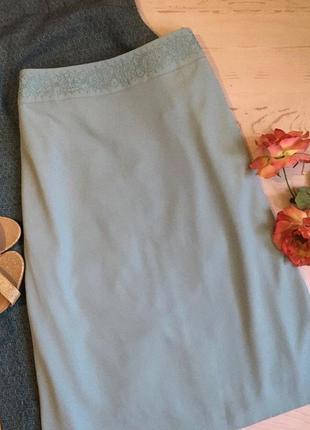 Нарядная юбка миди