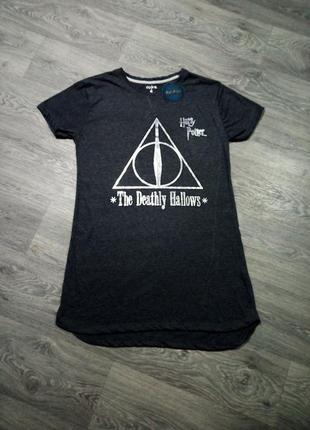 Длинная футболка туника гарри поттер harry potter пижама