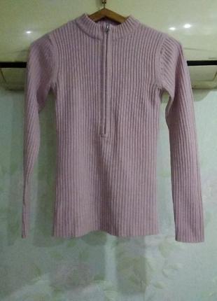 Кофта, свитер в рубчик