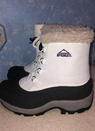 Зимние ботинки mckinley 36р
