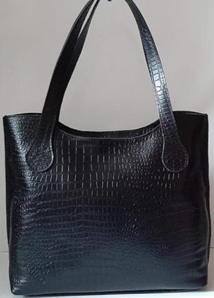 Практичная женская сумочка из натуральной качественной кожи