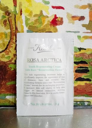 Антивозрастной увлажняющий крем для лица роза арктика  kiehls