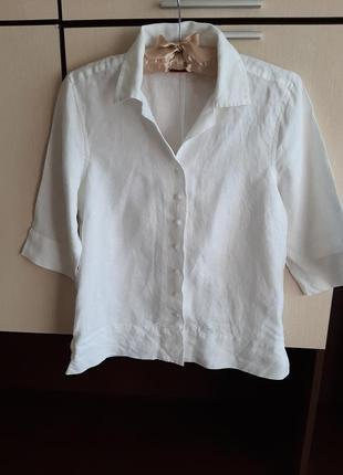 Льняная рубашка label of graded goods 100% лён