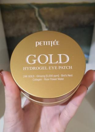 Гидроголевые патчи petitfee gold hydrogel eye patch