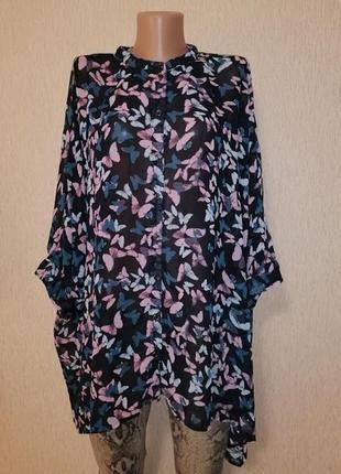 🔥🔥🔥красивая легкая женская блузка, кофта, кардиган, рубашка 22 р. george🔥🔥🔥
