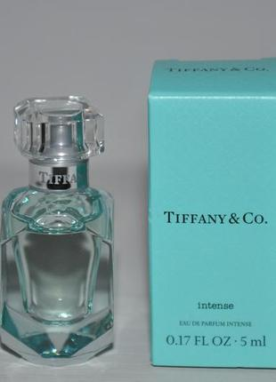 Tiffany & co intense парфюмированная вода (мини 5ml)