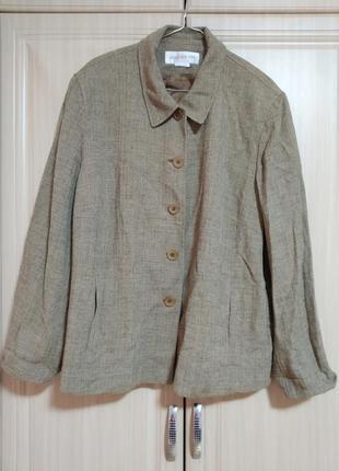 Куртка пиджак большого размера