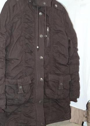Парка женская на синтепоне, оригинал, размер 48-50