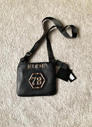 Philipp plein сумка, сумка-мессенджер