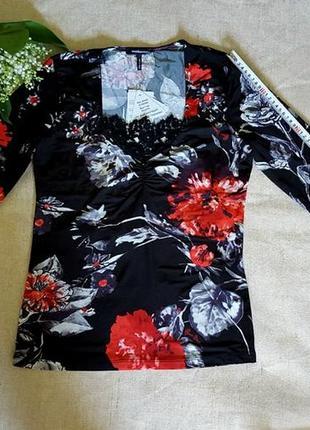 Блуза, roccobarocco, оригинал, италия