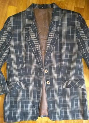 Alberto fabiani шикарный пиджак в клетку, шерсть