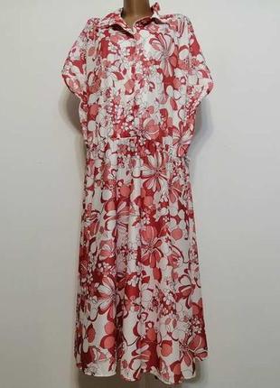 Платье andre de brett, как новое!