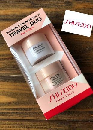 Крем shiseido benefiance wrinkleresist24 новые