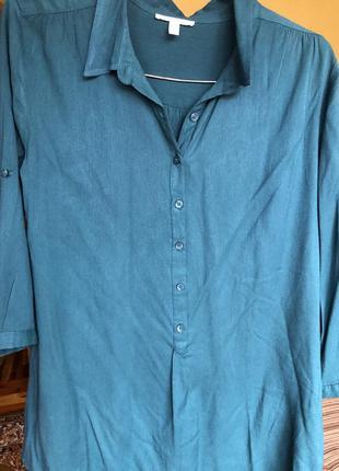 Блузка новаяизумрудный цвет
