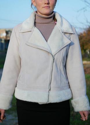 Куртка-дублёнка. весна-осень