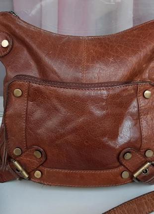 Стильная кожаная сумка cross-body lloyd baker .