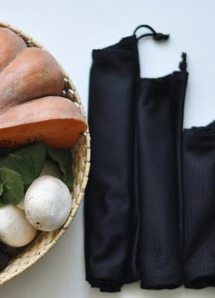 Еко-мішечки багаторазові торбинки з сітки эко-мешочки многоразовые из сетки эко сумка