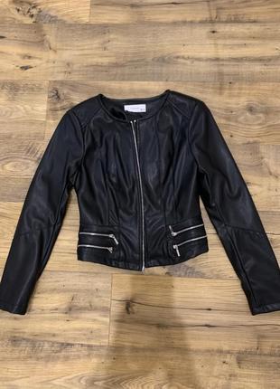 Кожаная куртка reserved