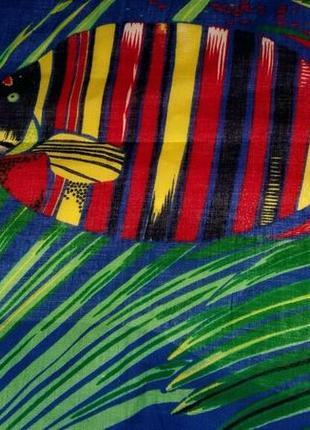 Шикарное пляжное парео tie rack london оригинал 100% soft cotton