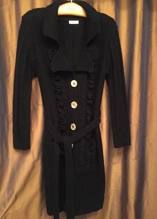 Вязаное пальто, кардиган, felicita.