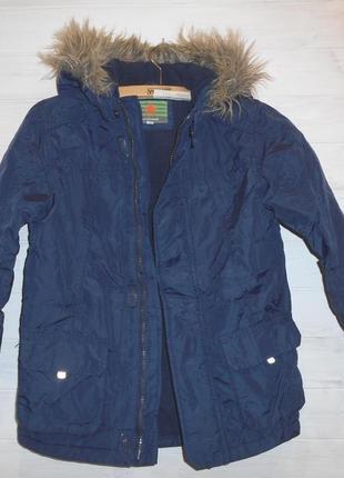 Красивая детская куртка со светоотражателями